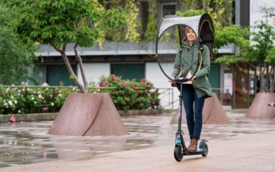 Electric scooter or bike, which is the best option when riding in the rain ?